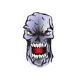 Scary Halloween figure vector image vector image
