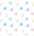 sweet candy hearts vector image