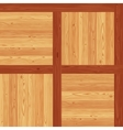 Versailles Parquet Seamless Floor Pattern vector image vector image