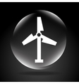 windmill signal vector image vector image