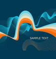 abstract background with curls and place for your vector image