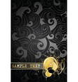 gold notes on a background vector image