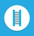 ladder icon colored symbol premium quality vector image vector image