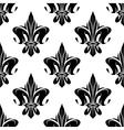 Royal floral fleur-de-lis seamless pattern vector image vector image