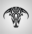 Tribal Bulls Head vector image vector image