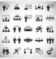 teamworking set on white background vector image vector image