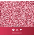 abstract background Triangles white vector image vector image