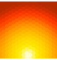 abstract sunset background made geometric vector image