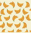 banana fruit tropical food wallpaper vector image vector image