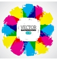 CMYK Background vector image vector image