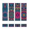 colorful ethnic identity banners vector image