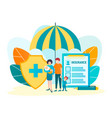 social assistance and protection of young couples vector image