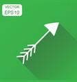 hand drawn arrow icon business concept arrow vector image