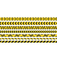 creative of black and yellow vector image vector image