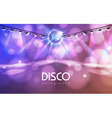 Disco ball abstract background
