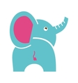 elephant cute isolated icon vector image vector image