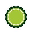 Green Seal stamp icon Label design vector image vector image