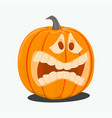 color of cartoon halloween vector image
