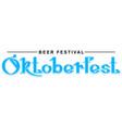 beer festival oktoberfest hand writing calligraphy vector image vector image