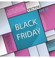 Black friday icon symbol Flat modern web design vector image