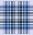 blue tartan check plaid fabric seamless pattern