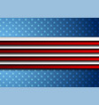 corporate concept usa flag abstract background vector image vector image