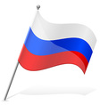 flag of Russian vector image