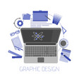 flat design style modern icons set graphic vector image vector image