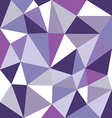 low polygon purple tone vector image
