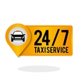 Taxi design Transportation icon Isolated vector image vector image