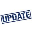 update stamp vector image vector image