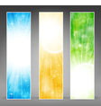vertical banner set vector image vector image
