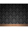 elegant vintage wallpaper vector image vector image