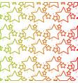line shiny stars space glitter backgound design vector image vector image