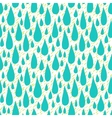 Pattern with rain drops in tropical colors vector image