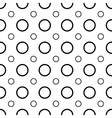 Polka dot geometric seamless pattern 1003 vector image