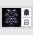 samurai ronin japan artwork vector image vector image
