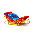 Santa claus christmas xmas holiday sleigh