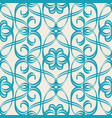 abstract seamless harmonious design blue and white vector image