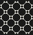 circles seamless pattern geometric texture with vector image vector image