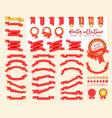 collection decorative design elements vector image