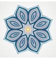 Ethnic Fractal Mandala vector image vector image
