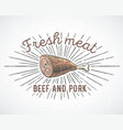 meat knuckle vector image vector image