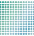 soft green polka dots on white vector image