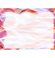 Wavy transparent retro slide background vector image vector image