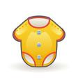 bodysuit for newborns cartoon badress wear vector image vector image