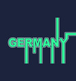 germany country name vector image vector image