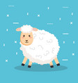 good night sleep cartoon sheep animals vector image vector image