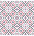 intricate mandala pattern blue background vector image vector image