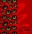 pumpkin vert vector image vector image